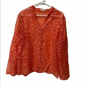 5/$25 like new XL choices blouse